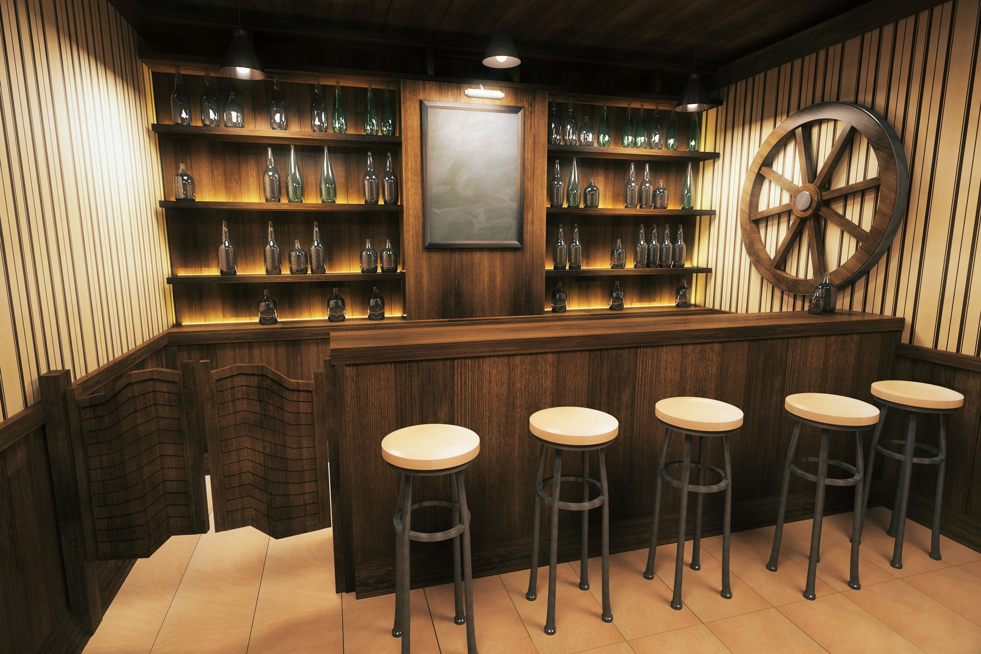 saloon-bar-counter